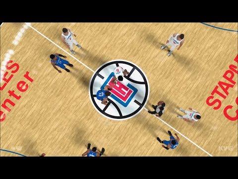 NBA 2K18 - Los Angeles Clippers vs Oklahoma City Thunder - Gameplay (PS4 HD) [1080p60FPS]