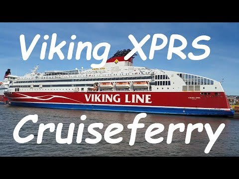 Tallinn to Helsinki ferry trip on Viking XPRS