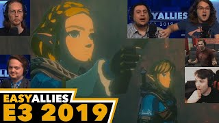 Zelda: Breath of the Wild Sequel - Easy Allies Reactions - E3 2019