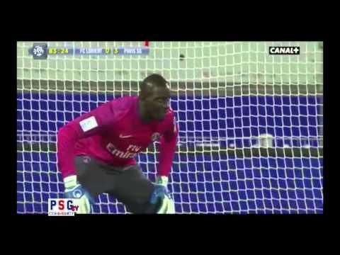 Mamadou Sakho Gardien de but (FC Lorient-PSG : 26 Mai 2013)