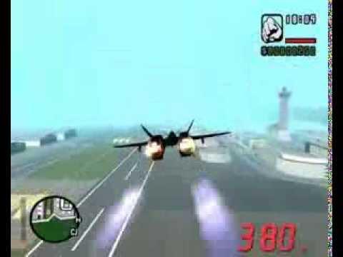 Полет в космос в Gta San Andreas