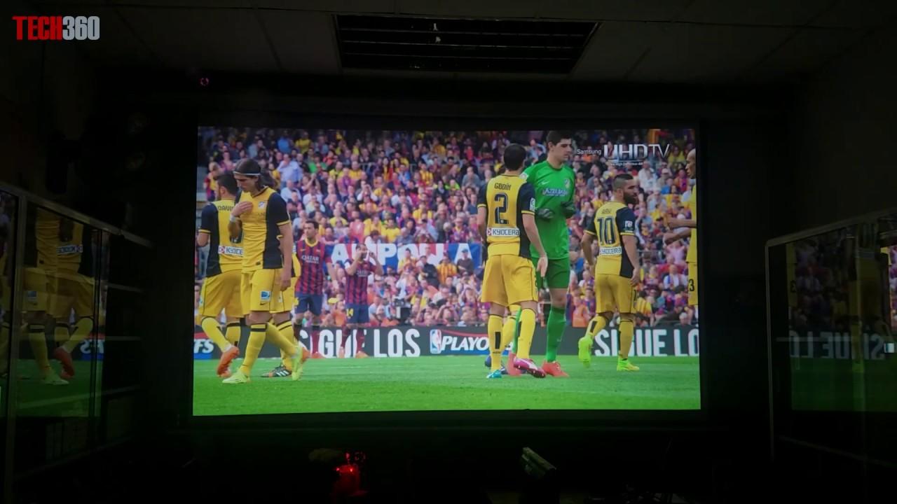 Máy chiếu Vivitek H1188 full HD – Trình chiếu bóng đá | Tech360.vn