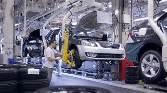 Škoda Octavia Production at Mladá Boleslav, Czech Republic