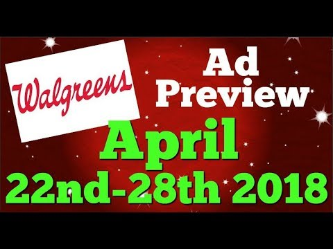 Walgreens Ad Preview Chit Chat April 22nd-28th 2018