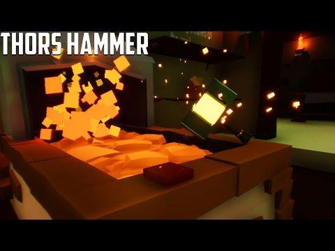 My Little Blacksmith Shop - MAKING THORS HAMMER