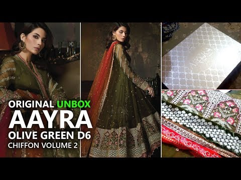 aayra-olive-green-cc-v2-d6-chiffon-collection-2018---pakistani-branded-clothes