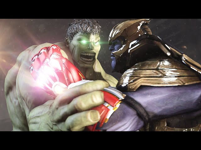 Hulk VS Thanos - REMATCH SCENE | 'What If' Avengers Endgame