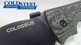 Una Navaja Impresionante Para EDC - Cold Steel Colossus II