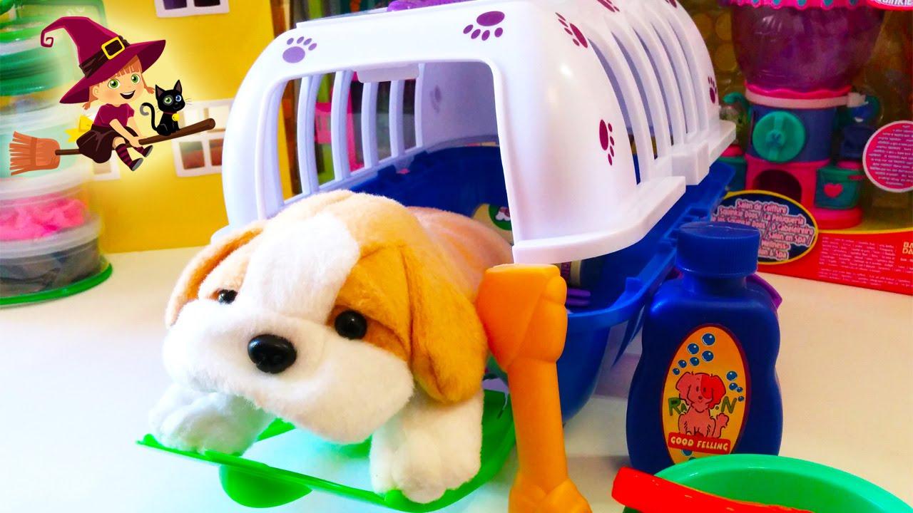 Juguete de Transportin para Perros  Perritos de peluche  YouTube