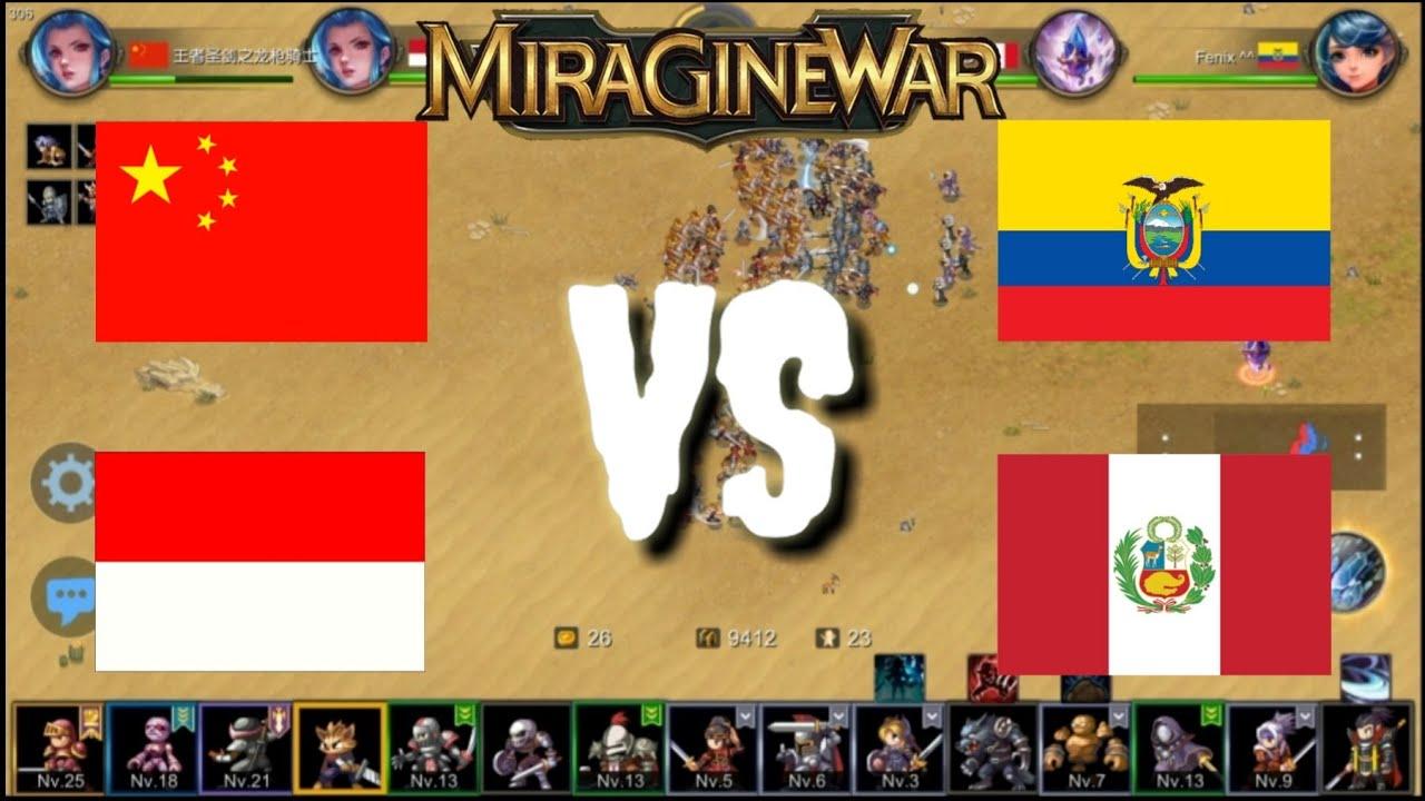 Miragine War: juego online en Android 2 vs 2 Ecuador ...