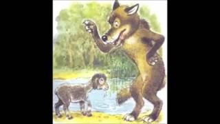 Басня Волк и ягненок 3