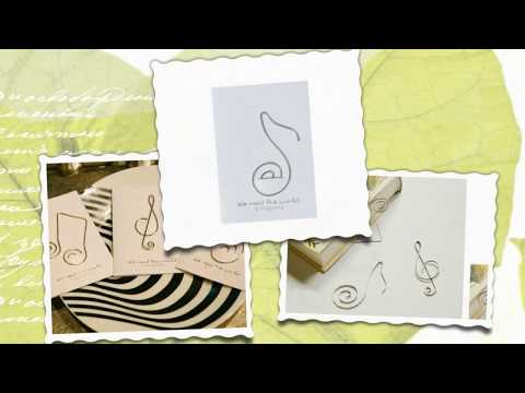 The Paper Clip Office Supplies - Music Note Gifts