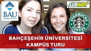 Bahçeşehir Üniversitesi Kampüs Turu | Özel Üniversitelerde Ortam Nasıl? #vlog