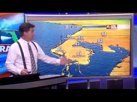 Florida's Most Accurate Forecast with Denis on Friday, March 10, 2017