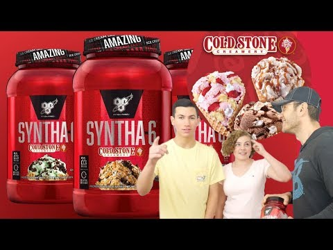 Syntha 6 COLD STONE CREAMERY Review   BEST Protein Flavor EVER?