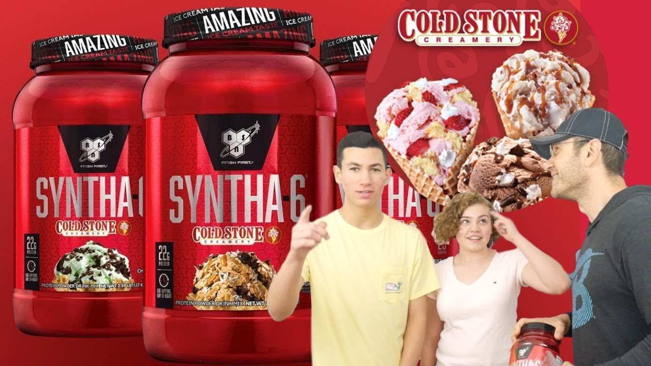 Syntha 6 Cold Stone Creamery Review Best Protein Flavor Ever