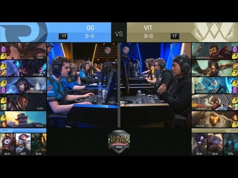 OG vs VIT Highlights - ORIGEN vs VITALITY - EU LCS Week 5 - SPRING 2016