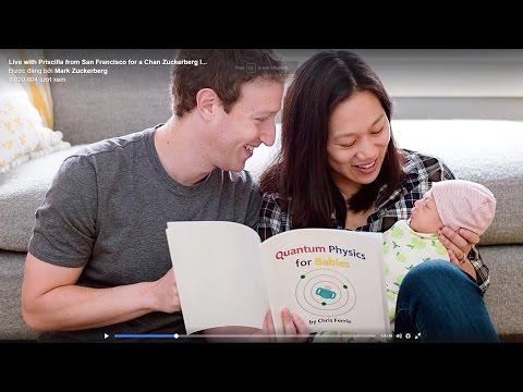 Mark ZuckerbergLive with Priscilla from San Francisco for a Chan Zuckerberg .