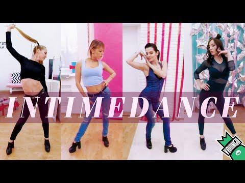 4 GIRLS DANCE FOR YOU • InTime High Heels Dance Choreo 360 VR Video (#VRKINGS)