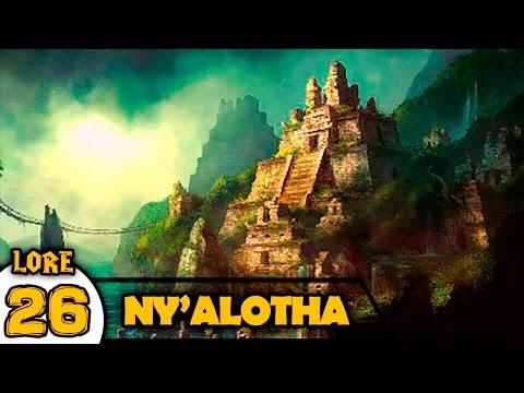 NY'ALOTHA la ciudad dormida | LORE Warcraft #26