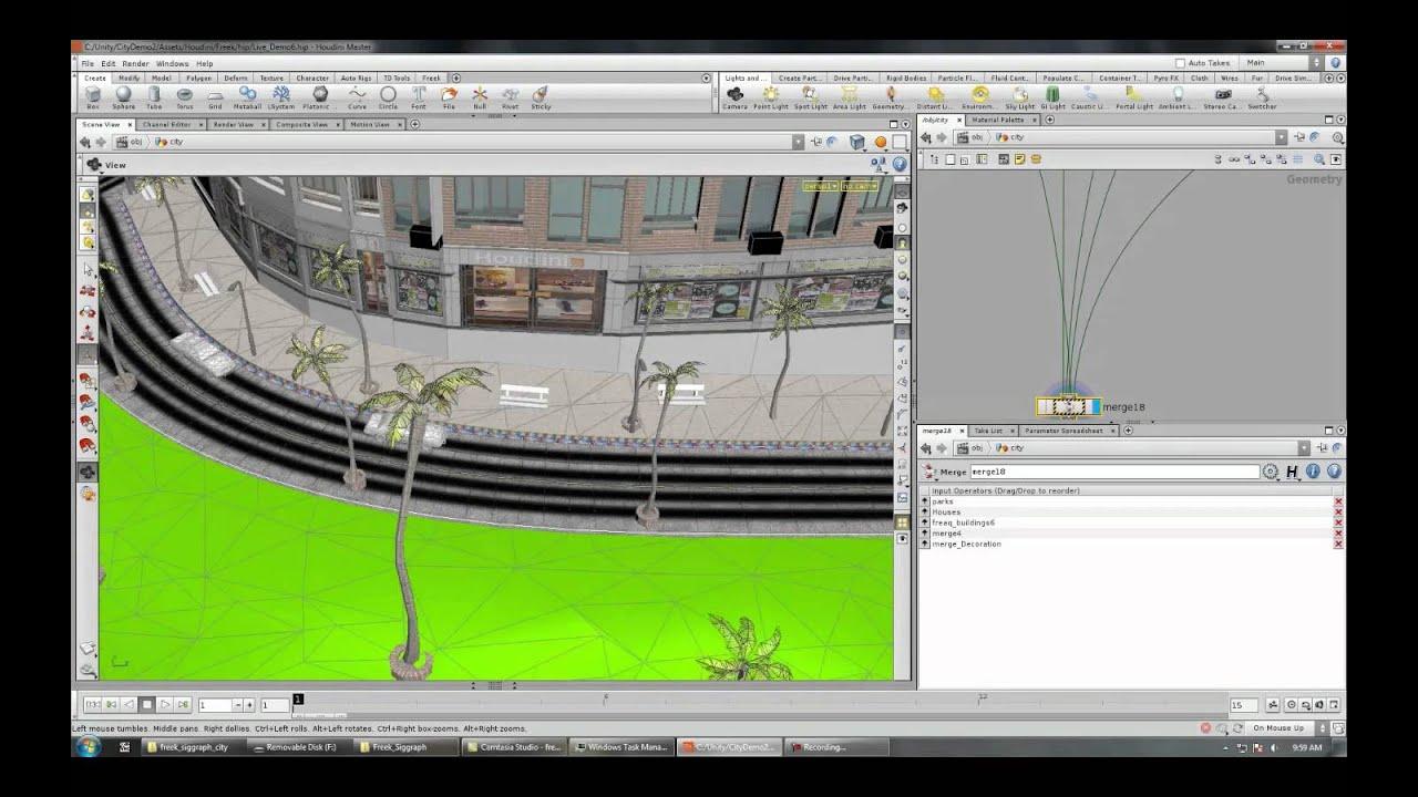 Procedural Modeling for Gamedev