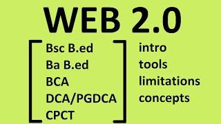 web 2.0 : detail, tools, limitations