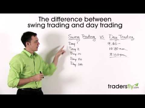 Understanding the Different Between Swing Trading and Day Trading
