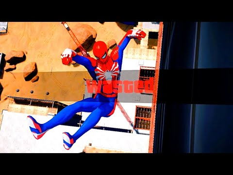 GTA 5 Epic Wasted Compilation SPIDERMAN Flooded Los Santos ep.67 (Funny Moments)