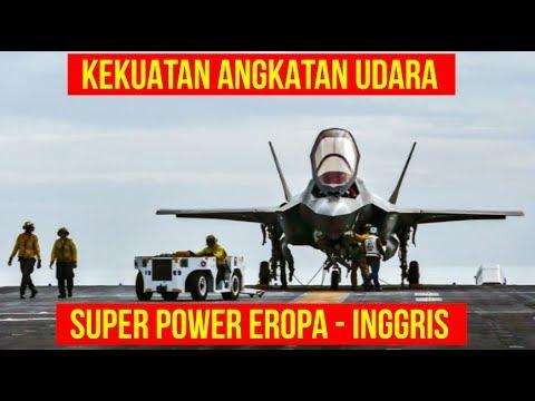 [FULL] Kekuatan Angkatan Udara INGGRIS
