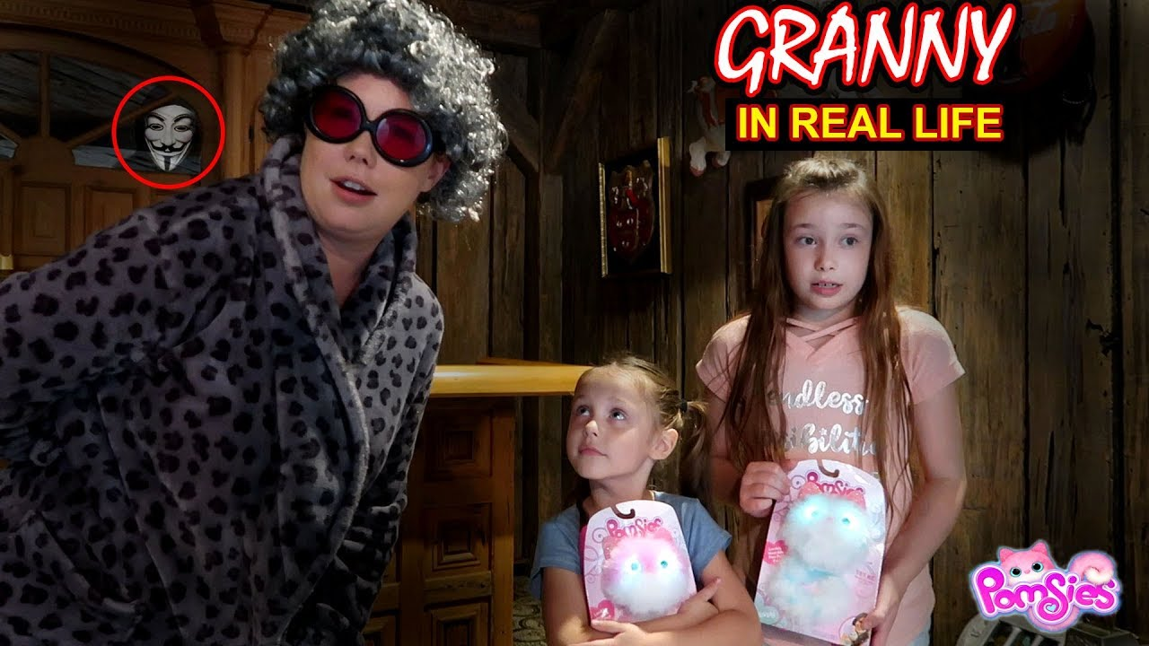 Granny Game In Real Life Pomsies Toy Scavenger Hunt Game ...