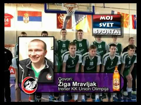 Ziga Mravljak - KK Union Olimpija - turnir Valjevo 2015