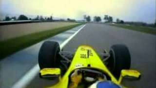 F1 USA 03 Q1 - Giancarlo Fisichella Onboard