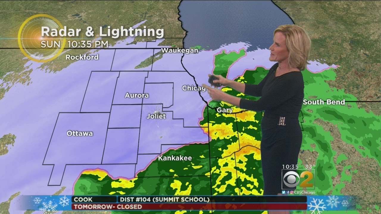 LIVE RADAR: Chicago Weather: Snow falls on NW suburbs, wintry mix creates ...