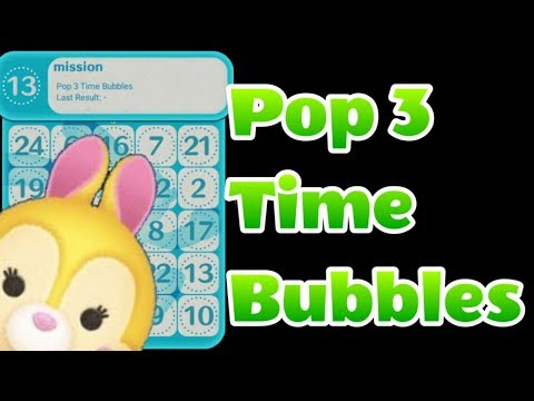 how to create a time bubble in tsum tsum