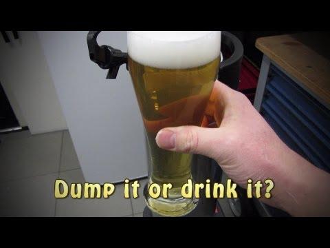 Bad beer? Dump it or drink it?