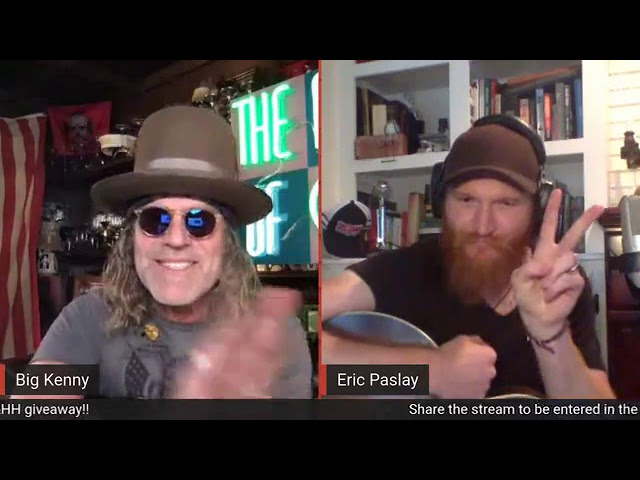 Peace Love & Happy Hour with Eric Paslay June 6th 2020