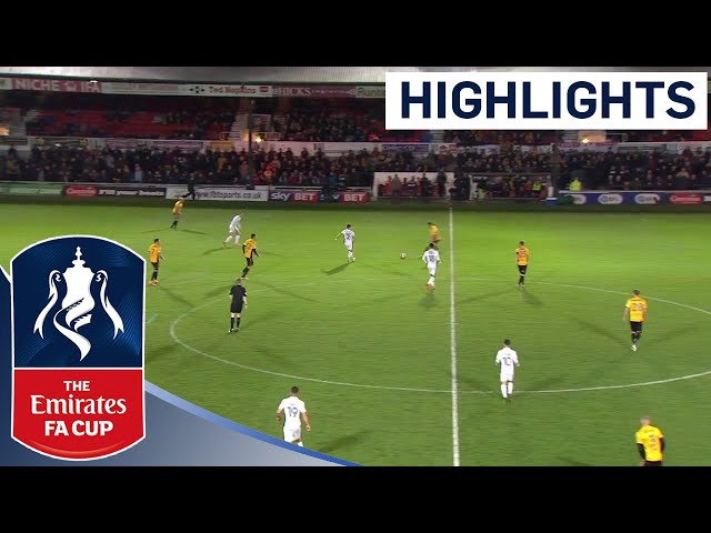 Newport County 2 - 1 Walsall | Highlights | The Emirates FA Cup 2017/18
