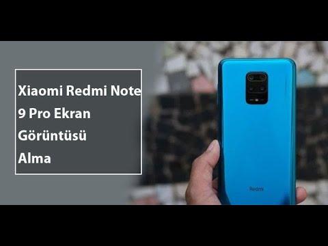 Xiaomi Redmi Note 9 Pro Ekran Görüntüsü Nasıl Alınır?