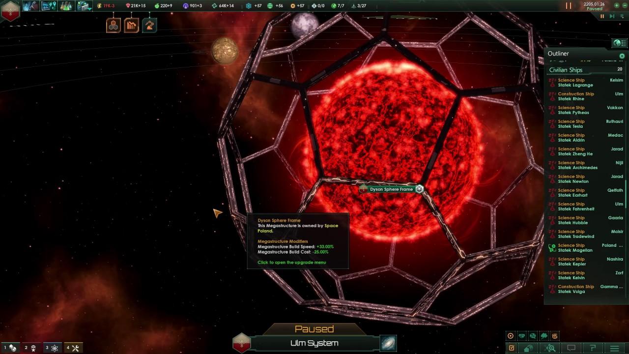 Stellaris Utopia: all megastructures
