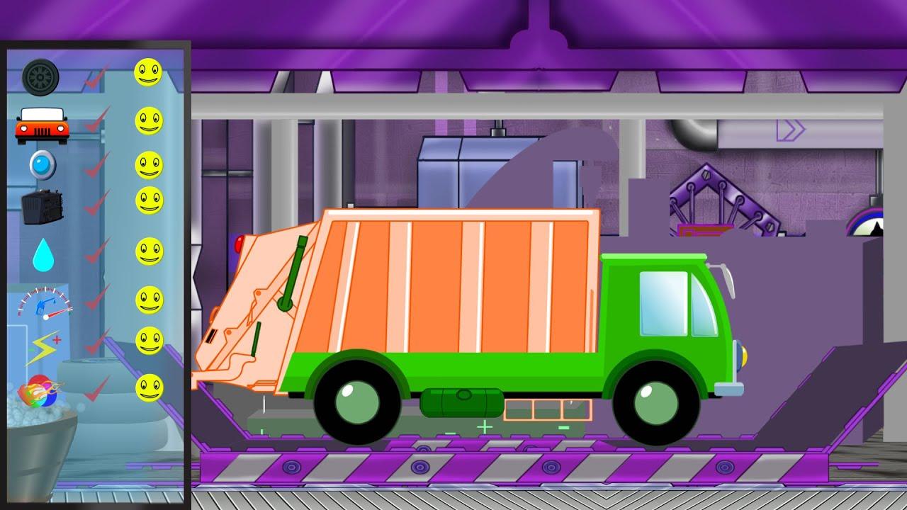 Garbage Truck   Garbage Truck Repair   Car Garage   Car Repair