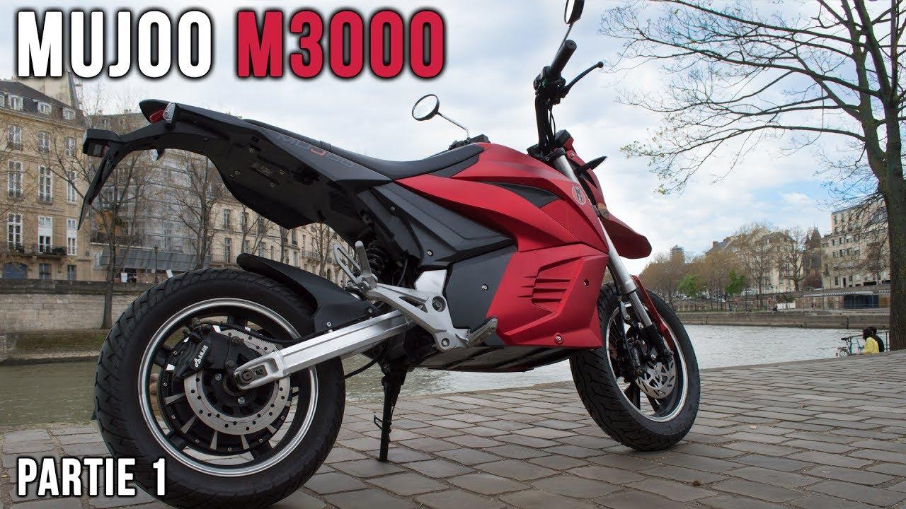 test 6 mujoo m3000 la moto lectrique pas cher partie 1 2 youtube
