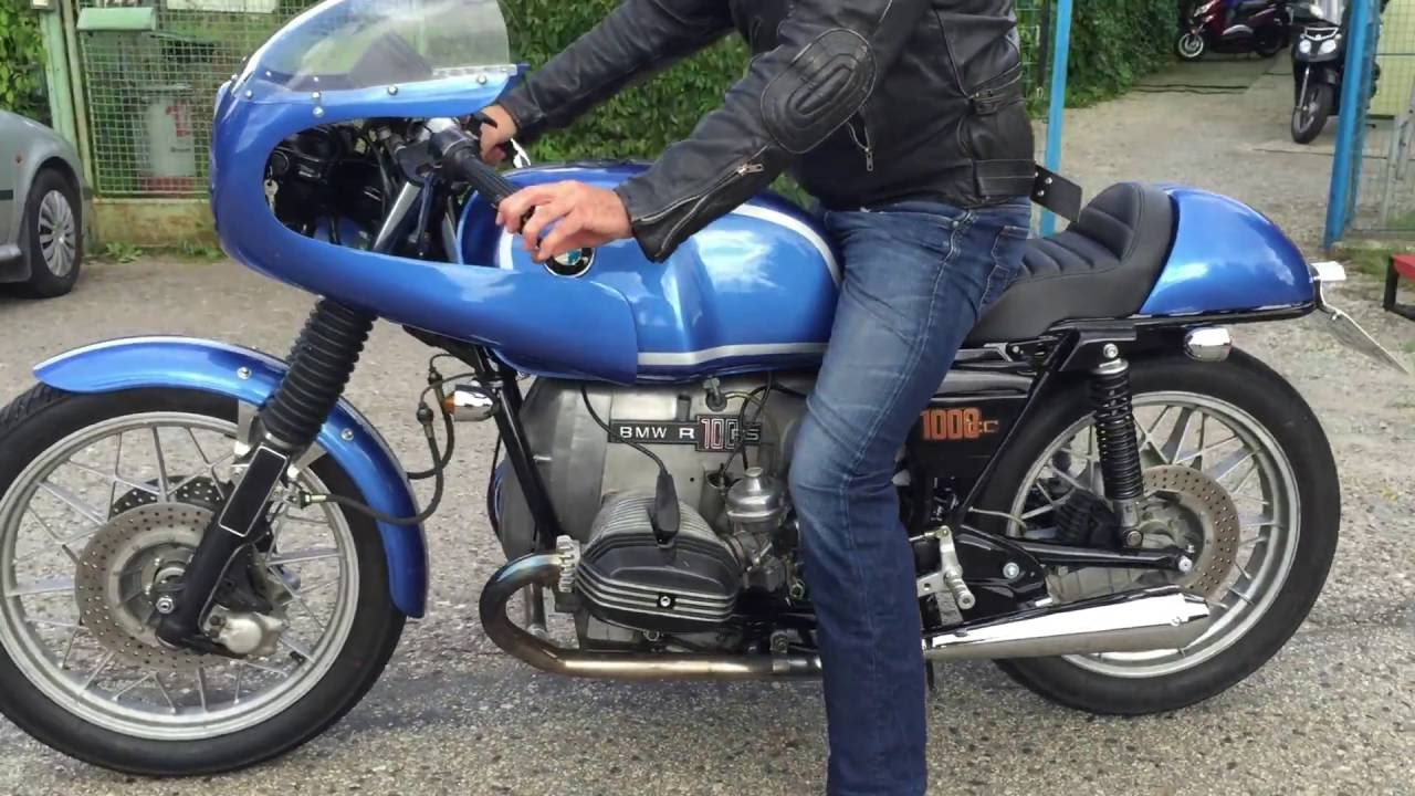 Bmw R100 Cafe Racer Youtube