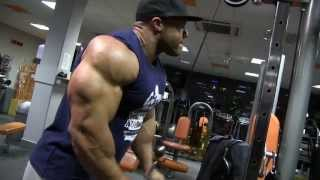 Phil Heath - Shoulders, triceps www.mozolani.com
