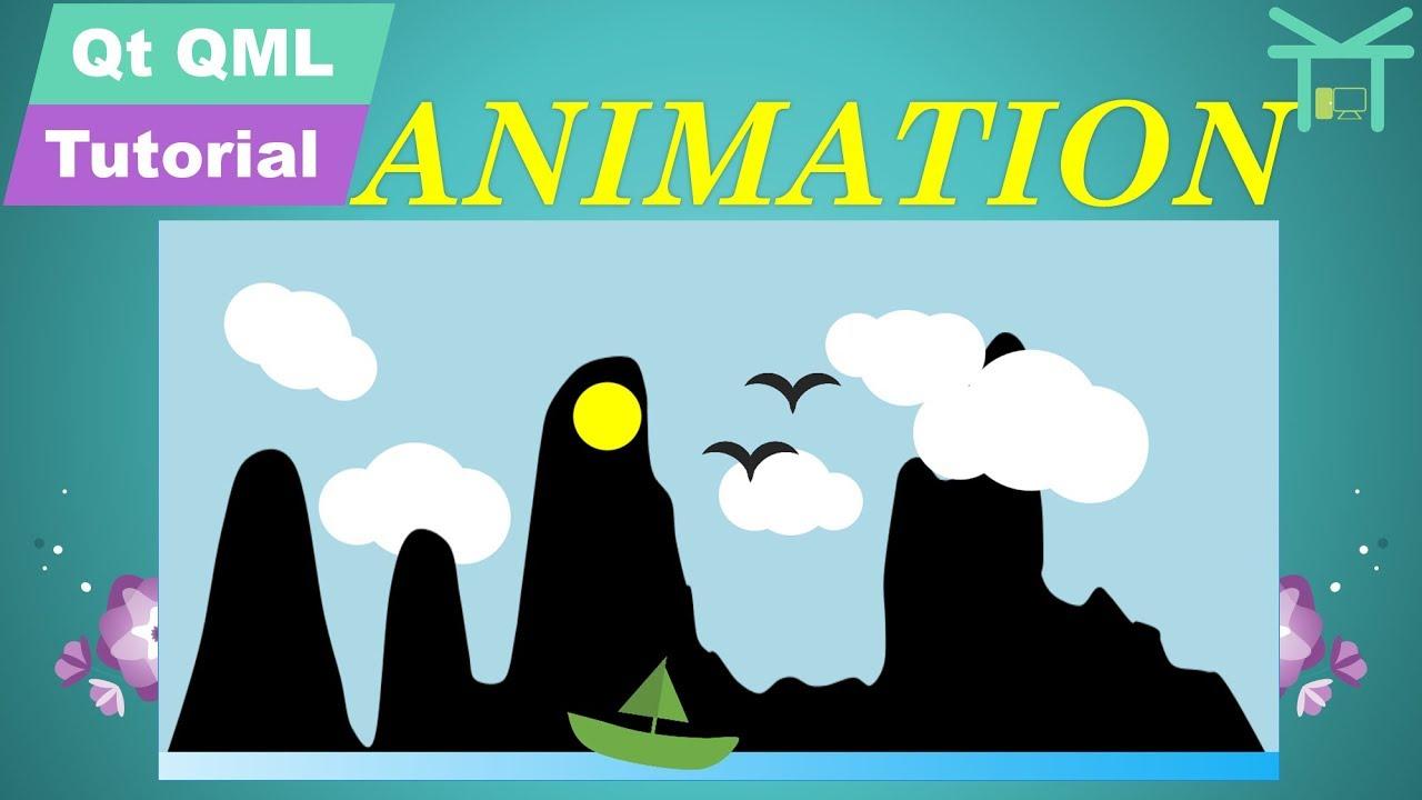 Qt QML Tutorial 5 - Animation