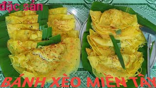cách làm bánh xèo miền tây nam bộ/howto make vietnamese crepe