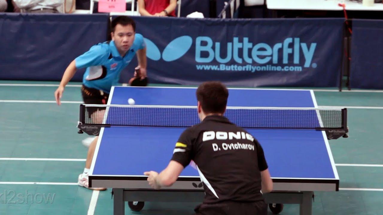 2012 L.A. Open Table Tennis Tournament(QF): Dimitrij Ovtcharov vs. Liang Yonghui - YouTube
