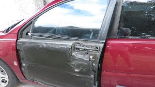Diy Fixing Broken Power Window Wires In A Saturn!!! (2.9.15)