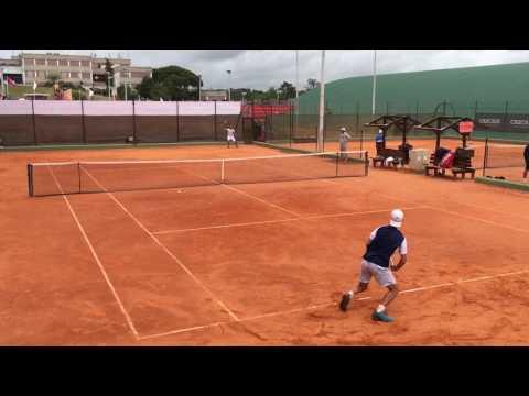 Richard Gasquet Practice, Estoril Open, Apr 30, 2017