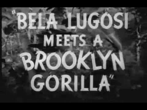 Comedy Horror Movie (Mad Scientist) - Bela Lugosi Meets A Brooklyn Gorilla