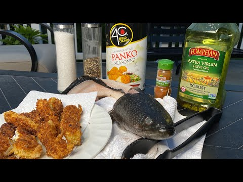 THE MOST DELICIOUS FISH I'VE EVER EATEN!!! (Snakehead Clean & Cook)